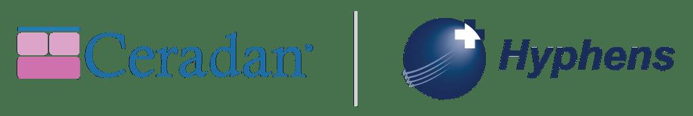 Ceradan-hyphens-logos