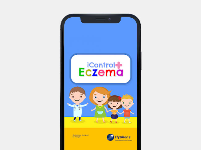 iControl Eczema App – Your Digital Diary to Track and Monitor Your Eczema